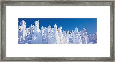 Zao Yamagata Japan Framed Print by Panoramic Images