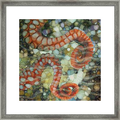 Beneath The Waves Series Framed Print by Jack Zulli
