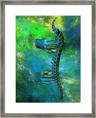 Healing Touch Framed Print by Joseph Ventura