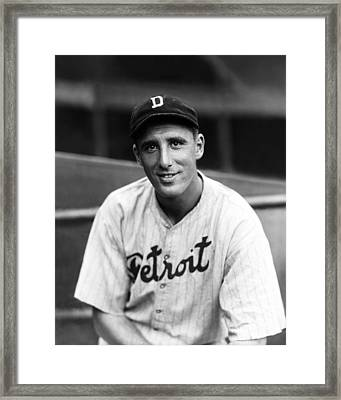 Henry B. Hank Greenberg Framed Print by Retro Images Archive