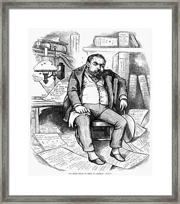 Thomas Nast (1840-1902) Framed Print by Granger