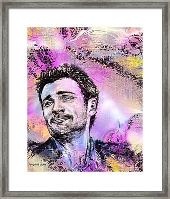 Tom Framed Print by Francoise Dugourd-Caput