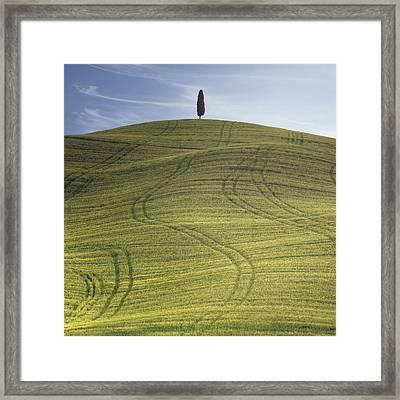 Tuscany - Val D'orcia Framed Print by Joana Kruse