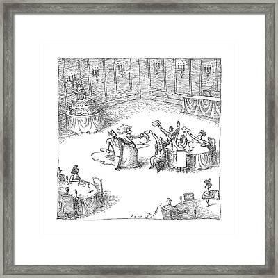 Untitled Framed Print by John O'Brien