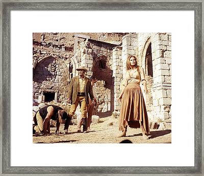 100 Rifles  Framed Print by Silver Screen
