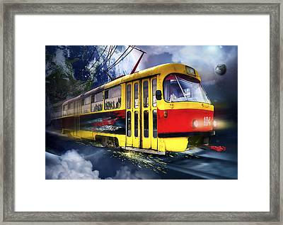 104 Framed Print by Svetlana Sewell