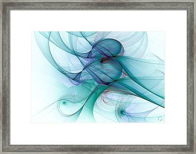 1045 Framed Print by Lar Matre