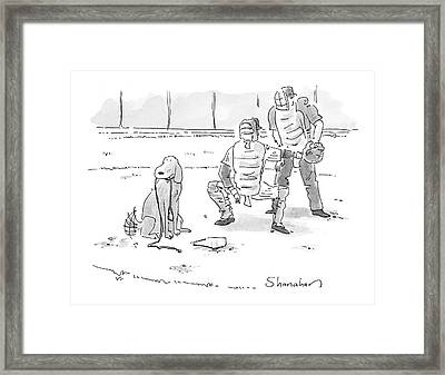 Untitled Framed Print by Danny Shanahan