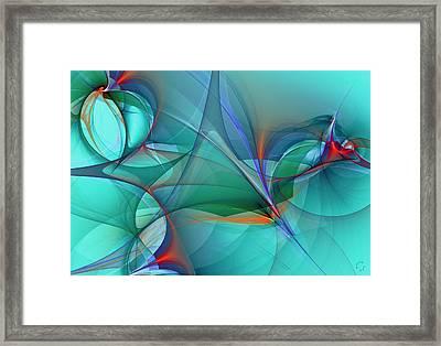 1074 Framed Print by Lar Matre