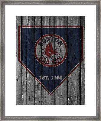 Boston Red Sox Framed Print by Joe Hamilton