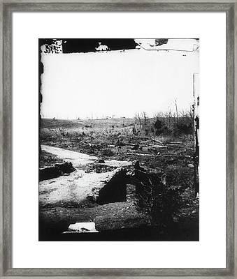 Civil War Bull Run, 1861 Framed Print by Granger