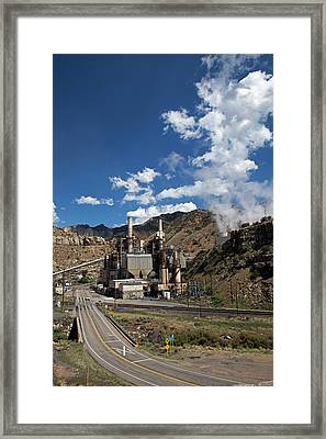 Coal-fired Power Station Framed Print by Jim West