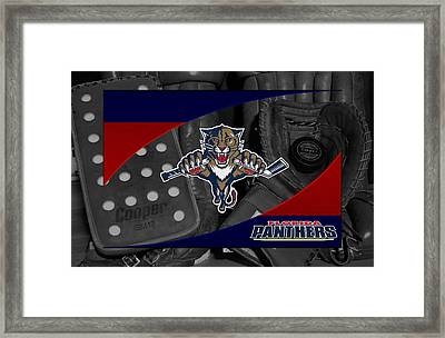 Florida Panthers Framed Print by Joe Hamilton