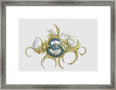 11 Framed Print by Jessica McLellan