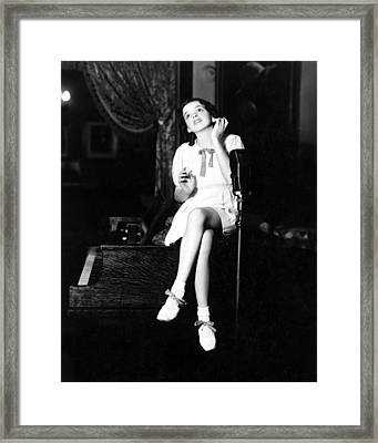 Judy Garland Framed Print by Silver Screen