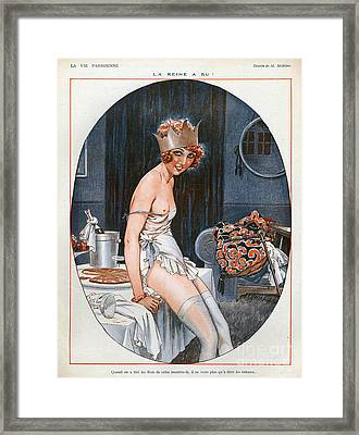 La Vie Parisienne  1926 1920s France Cc Framed Print by The Advertising Archives