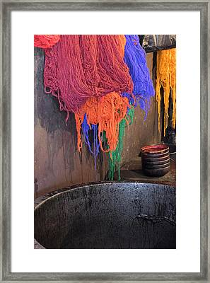 Morocco, Marrakech Framed Print by Emily Wilson