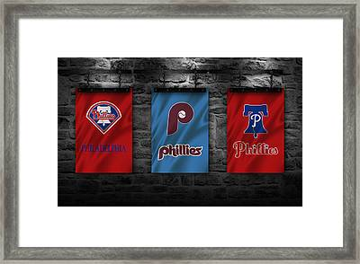 Philadelphia Phillies Framed Print by Joe Hamilton