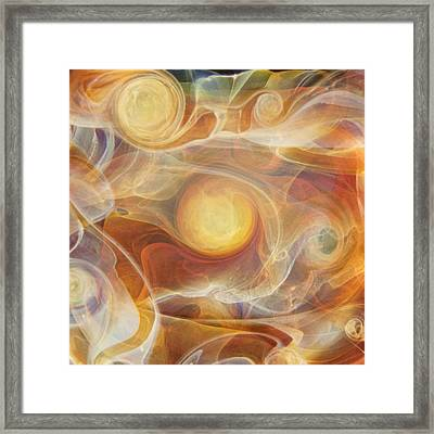 Solara Framed Print by Jubilant  Art