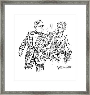 Untitled Framed Print by William Hamilton