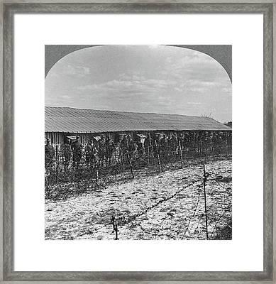 World War I Prisoners Framed Print by Granger