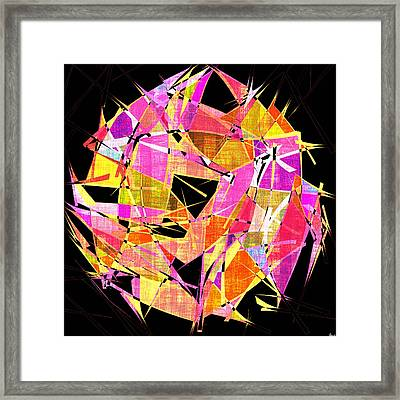 1102 Abstract Thought Framed Print by Chowdary V Arikatla