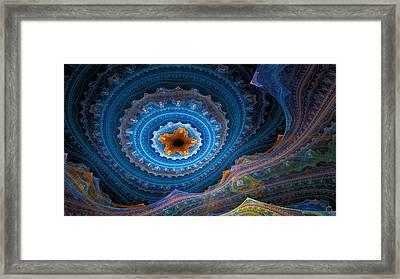 1105 Framed Print by Lar Matre