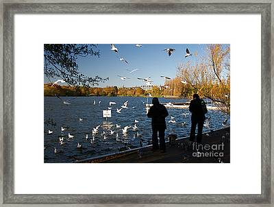 London Scenes Framed Print by ELITE IMAGE photography By Chad McDermott