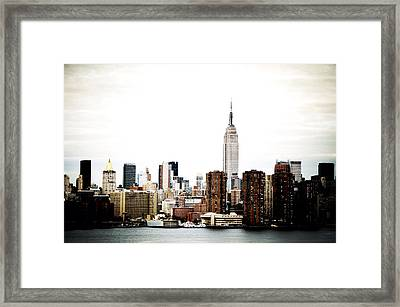 Manhattan Framed Print by Natasha Marco