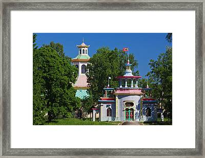 Russia, Saint Petersburg Framed Print by Walter Bibikow