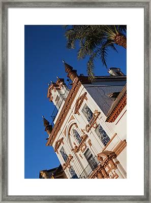Spain, Andalucia Region, Seville Framed Print by Walter Bibikow