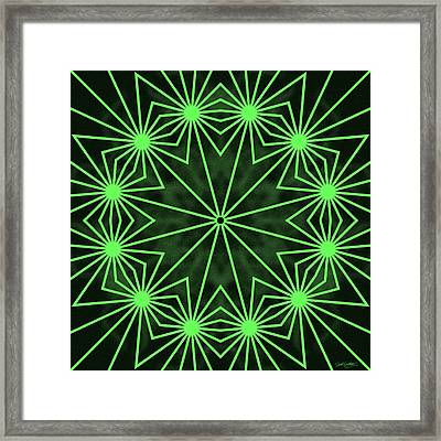 12 Stage Limelight Framed Print by Derek Gedney