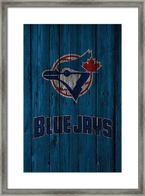 Toronto Blue Jays Framed Print by Joe Hamilton