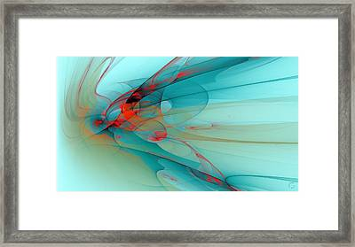 1256 Framed Print by Lar Matre