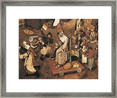 Breugel, Pieter, The Elder, Called Framed Print by Everett