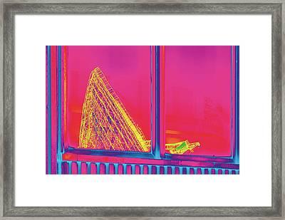 Effelsberg Radio Telescope Framed Print by Detlev Van Ravenswaay