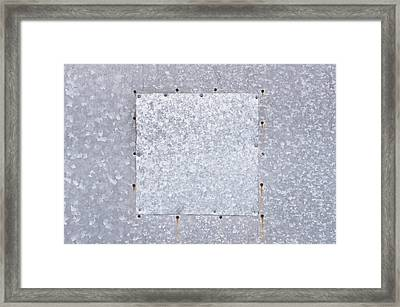 Metallic Background Framed Print by Tom Gowanlock