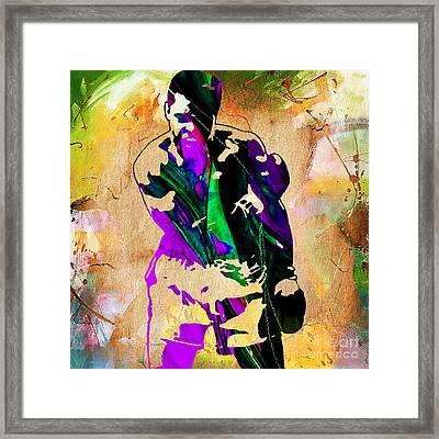 Muhammad Ali Framed Print by Marvin Blaine