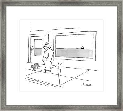 Untitled Framed Print by Jack Ziegler