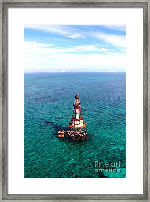 136 Years Of Service Framed Print by Rick Bravo