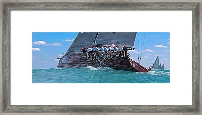 Miami Regatta Framed Print by Steven Lapkin