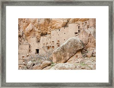 13th Century Grain Store Framed Print by Ashley Cooper