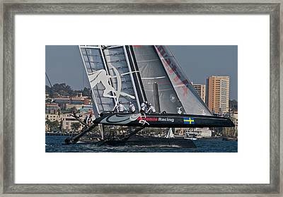 America's Cup World Series Framed Print by Steven Lapkin