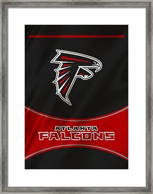Atlanta Falcons Uniform Framed Print by Joe Hamilton