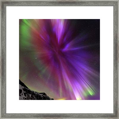 Aurora Borealis Framed Print by Babak Tafreshi