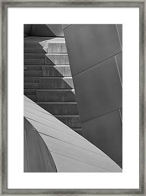 Disney Concert Hall Framed Print by Robert Jensen