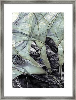 Electron Flow Framed Print by Eric Heller