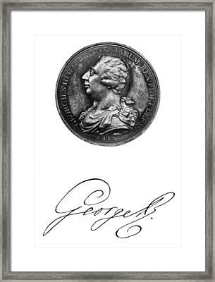George IIi (1738-1820) Framed Print by Granger