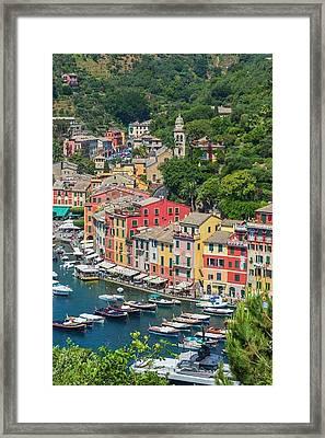 Portofino, Italy Framed Print by Ken Welsh