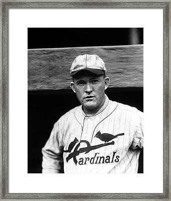 Rogers Hornsby Framed Print by Retro Images Archive
